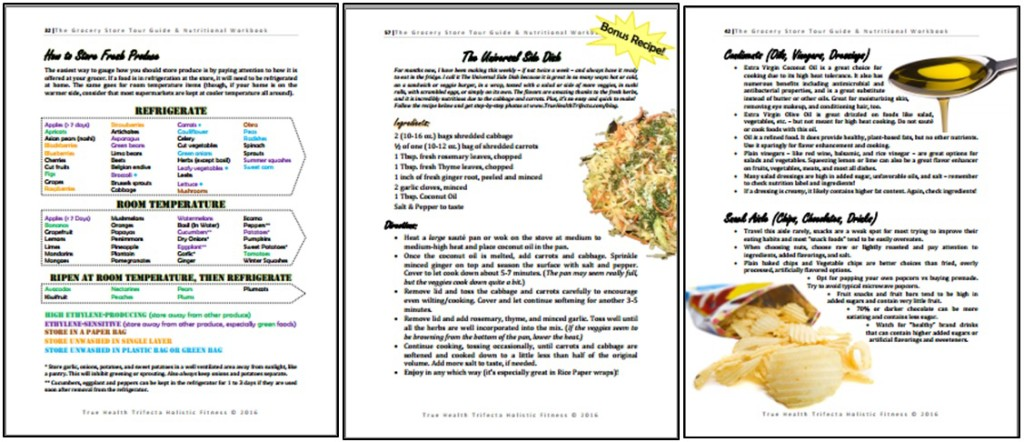 Grocery Guide page shots 2