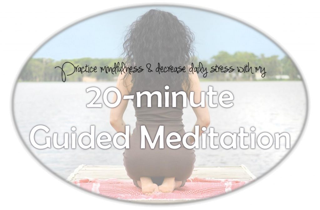 20 min guided meditation